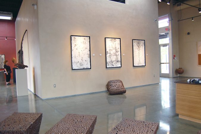 ENERGY FIELDS: Installation at William Siegal Gallery, Santa Fe
