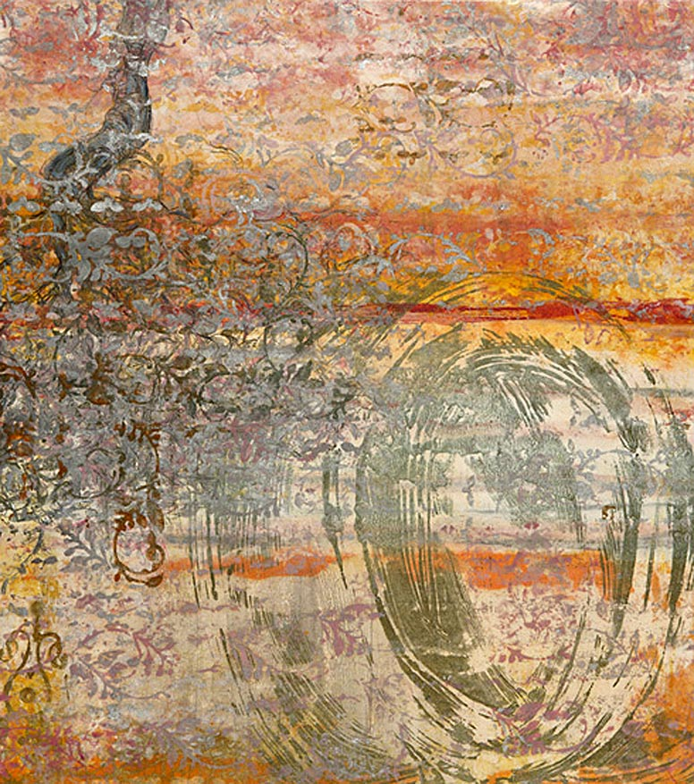 Encaustic Monotypes: BEAUTY'S LANGUAGE SERIES - Language of Beauty I