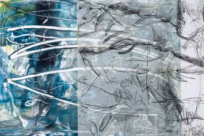 Encaustic Monotypes: NAVIGATING SERIES - Welcoming Chaos