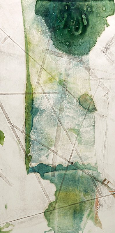 Encaustic Monotypes: NAVIGATING SERIES - You Are Here