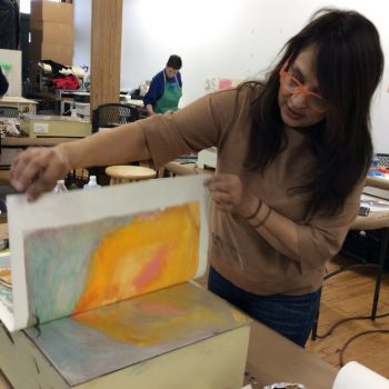NAVIGATING THE HOTbox: Comprehensive Encaustic Monotype and Paper