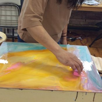 4-Day ENCAUSTIC PAINTING AND MONOTYPE: Developing Composition